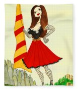 Catalancilla Fleece Blanket