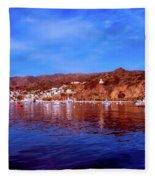 Catalina Island Fleece Blanket