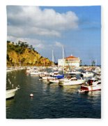 Catalina Kodachrome Fleece Blanket