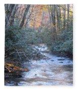 Cataloochee Creek Fleece Blanket