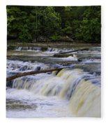 Cataract Falls Phase 1 Fleece Blanket