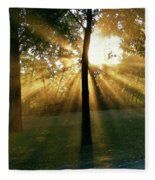 Catch Some Rays Fleece Blanket