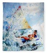 Catch The Wind Fleece Blanket
