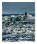 Catching A Wave Fleece Blanket