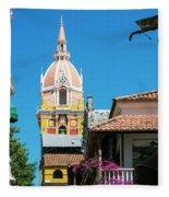 Catedral De Cartagena Fleece Blanket