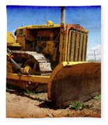 Caterpillar Twenty Two Fleece Blanket