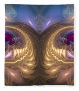 Catharsis - Abstract Art Fleece Blanket by Sipo Liimatainen