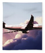 Cathay Pacific Airbus A330-343 Fleece Blanket