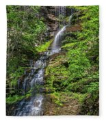 Cathedral Falls 2 Fleece Blanket