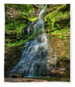 Cathedral Falls - Paint Fleece Blanket