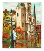 Cathedral Jazz Fleece Blanket