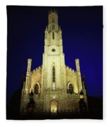 Cathedral Of The Assumption, Carlow, Co Fleece Blanket