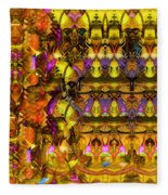 Cathedral Of The Mind No 57 Fleece Blanket