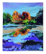 Cathedral Rock - Sedona Fleece Blanket
