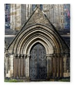 Cathedral Side Door Fleece Blanket