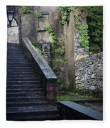 Cathedral Stairs Fleece Blanket