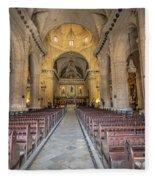 Catholic Church Fleece Blanket