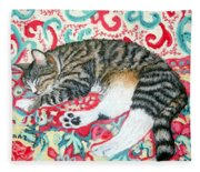Catnap Time Fleece Blanket