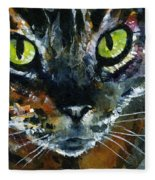 Cats Eyes 16 Fleece Blanket