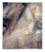 Cats Eyes Fleece Blanket