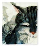 Cats Whiskers Fleece Blanket