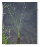 Cattail Fleece Blanket