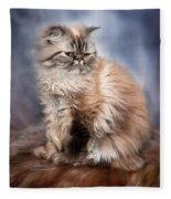 Cattitude 2 Fleece Blanket