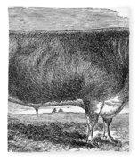 Cattle, C1880 Fleece Blanket