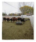 Cattle Fleece Blanket
