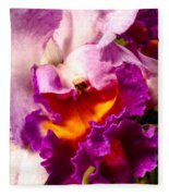 Cattleya IIi Fleece Blanket