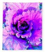 Cauliflower Abstract #8 Fleece Blanket