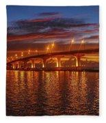 Causeway Sunrise Fleece Blanket