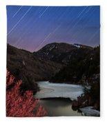 Raining Stars Fleece Blanket