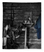 Cavalry Bunkhouse Fleece Blanket