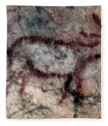 Cave Art: Covalanas Fleece Blanket