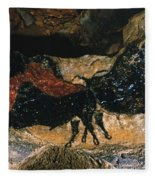 Cave Drawing/lascaux Fleece Blanket