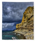 Cave Rock Color Fleece Blanket