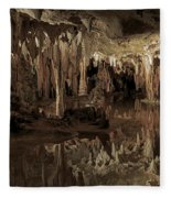 Cavern Reflections Fleece Blanket