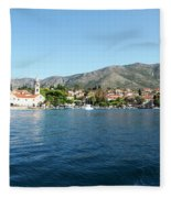 Cavtat, Croatia Fleece Blanket