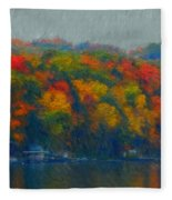 Cayuga Autumn Fleece Blanket