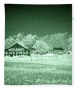 Cayuga Barn 2 Fleece Blanket