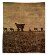 Pioneers Fleece Blanket