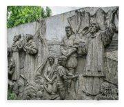 Cebu Carvings Fleece Blanket