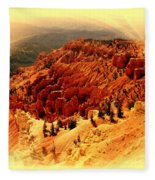 Cedar Breaks 2 Fleece Blanket