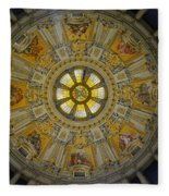 Ceiling Of The Berlin Cathedral Fleece Blanket
