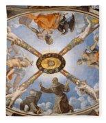 Ceiling Of The Chapel Of Eleonora Of Toledo Fleece Blanket