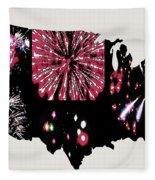 Celebrate America Fleece Blanket