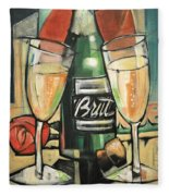 Celebrate With Bubbly Fleece Blanket