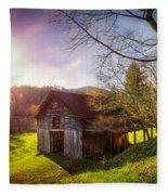 Celebrating Sunset Fleece Blanket