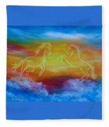 Celestial Dream Fleece Blanket